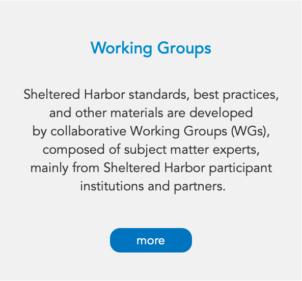 How We Work Working Groups More